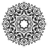 mandala Elementos decorativos florales Fotos de archivo libres de regalías