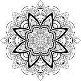 mandala elementu dekoracyjny rocznik royalty ilustracja