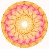 Mandala ensoleillé Photo stock