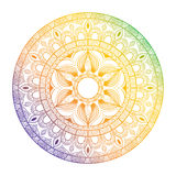 mandala eps 8 κύκλων διάνυσμα διακοσμήσεων απεικόνισης Στοκ φωτογραφία με δικαίωμα ελεύθερης χρήσης