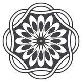 Mandala in esoteric style Royalty Free Stock Photography