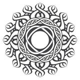 Mandala in esoteric style Stock Photo