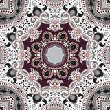 Mandala.  ethnic background. Royalty Free Stock Images