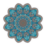Mandala. Ethnic colorful decorative mandala ornament. Vector illustration Stock Photo