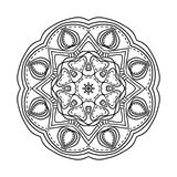 Mandala. Ethnic decorative elements. Hand drawn background. Oriental Stock Photos