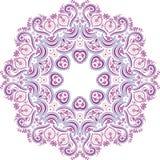 Mandala ethnic indian illustration design art Royalty Free Stock Photo