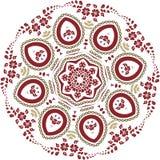 Mandala ethnic indian illustration design Royalty Free Stock Photography