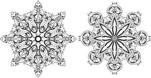 Mandala ethnic indian illustration design Royalty Free Stock Photos
