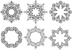 Mandala ethnic indian illustration design Stock Photography