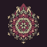 Mandala. Ethnic motifs Royalty Free Stock Images