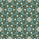 Mandala. Ethnic motifs vector seamless pattern. Vector seamless pattern background on the basis of a mandala design. Elegant luxury texture for wallpapers Stock Photo