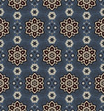 Mandala. Ethnic motifs vector seamless pattern. Vector seamless pattern background on the basis of a mandala design. Elegant luxury texture for wallpapers Royalty Free Stock Photography