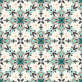 Mandala. Ethnic motifs vector seamless pattern. Vector seamless pattern background on the basis of a mandala design. Elegant luxury texture for wallpapers Royalty Free Stock Photo