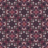 Mandala. Ethnic motifs vector seamless pattern. Vector seamless pattern background on the basis of a mandala design. Elegant luxury texture for wallpapers Royalty Free Stock Image
