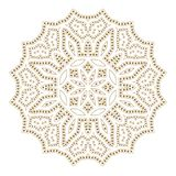 Mandala. Ethnicity round ornament. Ethnic style. Elements for invitation card. Oriental circular pattern, lace background. Cards,brochures,covers. Arabic Royalty Free Stock Images