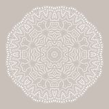 Mandala. Ethnicity round ornament. Ethnic style. Elements for invitation card. Oriental circular pattern, lace background. Cards,brochures,covers Royalty Free Stock Images
