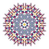 Mandala. Ethnicity round ornament. Ethnic style. Stock Image