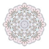 Mandala. Ethnicity round ornament. Ethnic style. Elements for invitation cards, brochures, covers. Oriental circular pattern Royalty Free Stock Image
