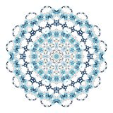 Mandala. Ethnicity round ornament. Ethnic style. Elements for invitation cards, brochures, covers. Oriental circular pattern. Arabic, Islamic and moroccan stock illustration