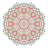 Mandala. Ethnicity round ornament. Ethnic style. Elements for invitation cards, brochures, covers. Oriental circular pattern Royalty Free Stock Photo
