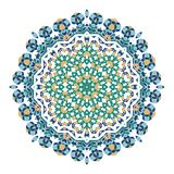 Mandala. Ethnicity turkish round ornament. Ethnic style. Elements for invitation cards, brochures, covers. Oriental circular pattern. Arabic, Islamic and stock illustration