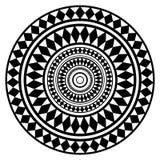 Mandala ethnique rond d'ornement Peut être employé pour la décoration, Photos libres de droits