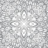 mandala Ethnische dekorative Elemente Hand gezeichnet Stockbild