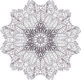 mandala Etniczni dekoracyjni elementy ręka patroszona Obrazy Royalty Free