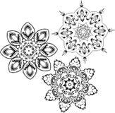 Mandala etniczny indyjski ilustracyjny projekt ilustracji