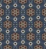 mandala Etnisch motieven vector naadloos patroon Royalty-vrije Stock Fotografie