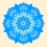 mandala Etnische decoratieve elementen Stock Afbeeldingen