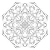 mandala Etnische decoratieve elementen Royalty-vrije Stock Afbeeldingen