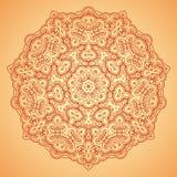 mandala Etniska dekorativa beståndsdelar Royaltyfria Foton