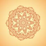 mandala Etniska dekorativa beståndsdelar Beståndsdel för vektormodelldesign Royaltyfria Foton