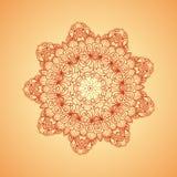 mandala Etniska dekorativa beståndsdelar Vektormodelldesign Royaltyfri Fotografi