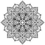Mandala för vektordiagram Royaltyfri Fotografi