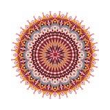 Mandala fleuri de dentelle ronde arabe décorative Photographie stock libre de droits
