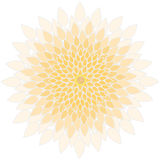 Mandala-flor imagen de archivo