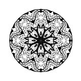 mandala Floral εθνικός αφηρημένος διακοσμητικός Στοκ εικόνες με δικαίωμα ελεύθερης χρήσης