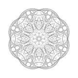 mandala Floral εθνικός αφηρημένος διακοσμητικός Στοκ φωτογραφία με δικαίωμα ελεύθερης χρήσης