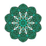 mandala Floral εθνικός αφηρημένος διακοσμητικός Στοκ Φωτογραφίες