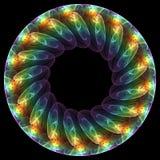 Mandala floral Imagens de Stock Royalty Free