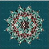 Mandala floral Foto de archivo libre de regalías