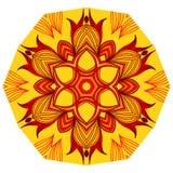 Mandala floral Imagem de Stock Royalty Free