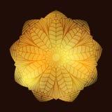 Mandala2 floral Image stock