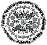 Mandala floral bonita Ornamento para seu projeto fotografia de stock royalty free