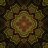 Mandala floral calmante Fotografía de archivo libre de regalías