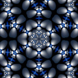 Mandala floral de globule Images stock