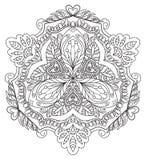 Mandala floral decorativa Fotografía de archivo libre de regalías