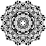 Mandala floral element Royalty Free Stock Photography